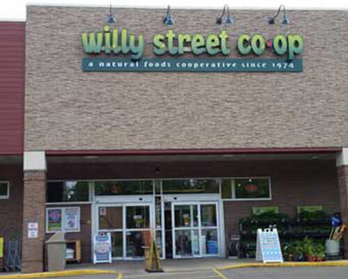 Willy Street Co Op building sign