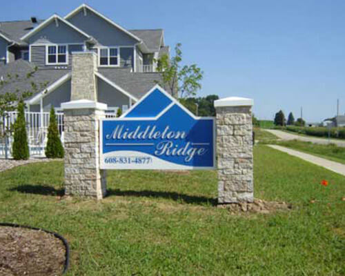 Middleton Ridge freestanding sign
