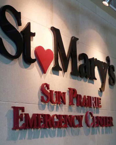 st marys sign