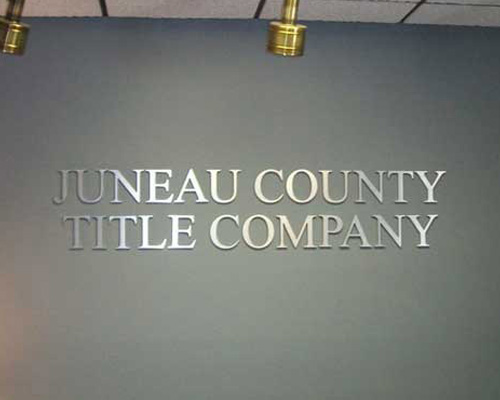 juneau county sign