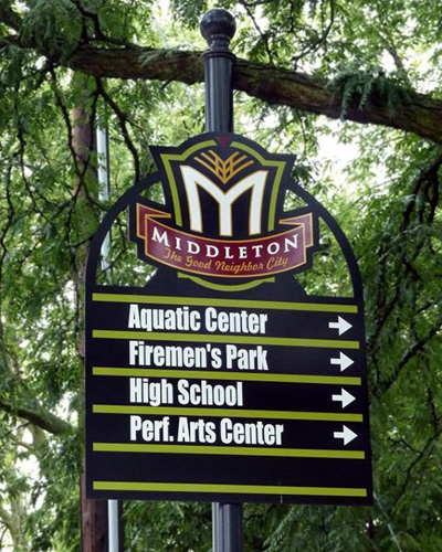 middleton sign