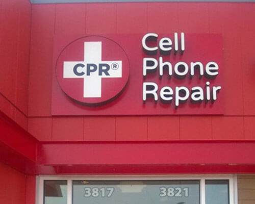 Cell Phone Repair building sign