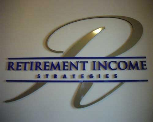retirement income sign
